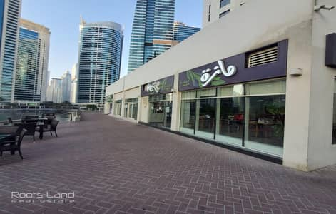 Other Commercial for Rent in Jumeirah Lake Towers (JLT), Dubai - Spacious Lake View Retail Shop