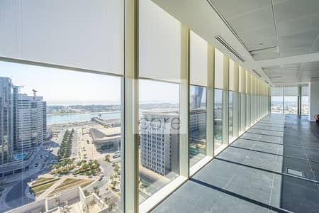 Office for Rent in Capital Centre, Abu Dhabi - Spacious CAT A Office | High Floor | Parking