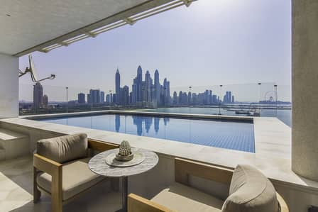 2 Bedroom Flat for Rent in Palm Jumeirah, Dubai - PICTURESQUE LUXURY APARTMENT with PRIVATE POOL | HUGE LAYOUT