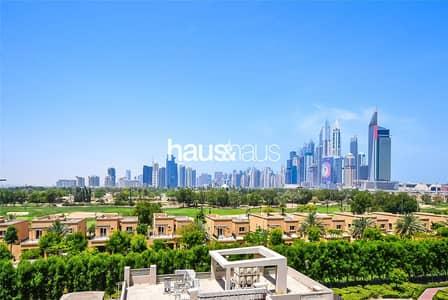شقة 2 غرفة نوم للايجار في ذا فيوز، دبي - Study | Golf Course Views | Available Now |