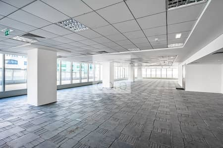 مکتب  للايجار في المرور، أبوظبي - Low Floor | Fitted Office | Prime Location