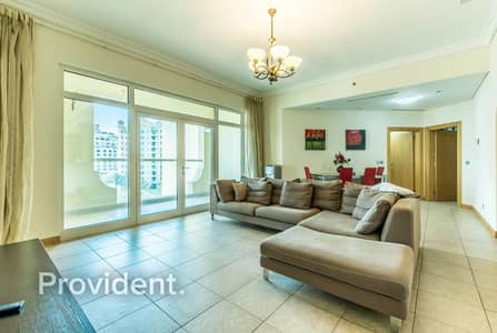 2 Bedroom Apartment for Rent in Palm Jumeirah, Dubai - Fully Furnished   Well Maintained   Bright