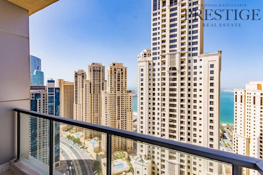 34 Two Bedrooms | High floor | Marina View.