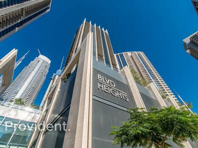 1 Bedroom Apartment for Sale in Downtown Dubai, Dubai - High Floor | City View | Finance Available