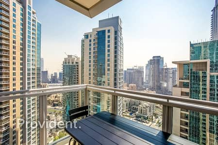 شقة 1 غرفة نوم للبيع في وسط مدينة دبي، دبي - Best Price l Vacant on Transfer | Pool View