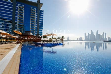 Hotel Apartment for Sale in Palm Jumeirah, Dubai - 11% NET Returns | Studio | Sea View | PJ