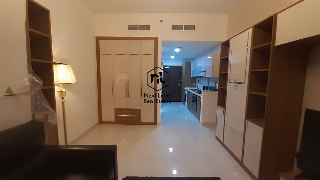 2 Danube fully furnished studio with balcony and parking