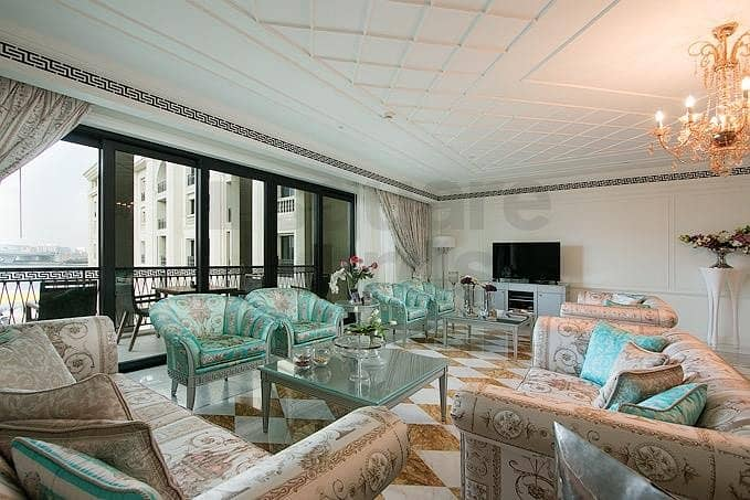 13 Fully Furnished by Versace || 3 Bedroom Apartment.