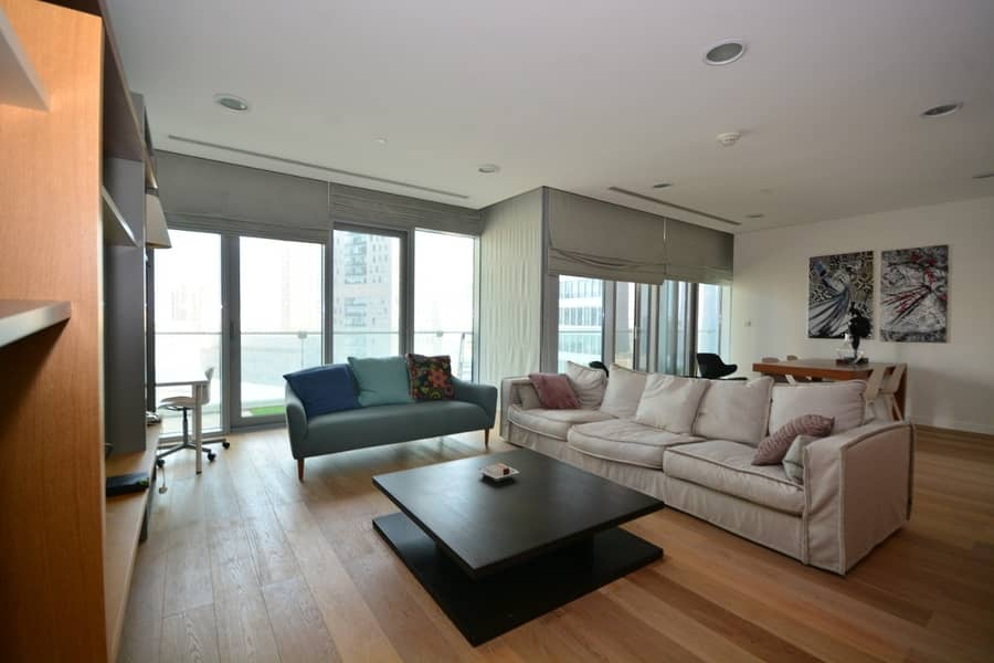 Luxury Furnished   DIFC View   Largest Simplex