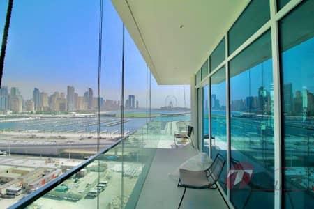 فلیٹ 1 غرفة نوم للبيع في دبي هاربور، دبي - Private Beach Front Living |Stunning Full Sea View
