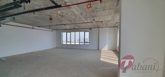Office for Sale in Jumeirah Village Circle (JVC), Dubai - Shell and Core office for sale on higher floor.