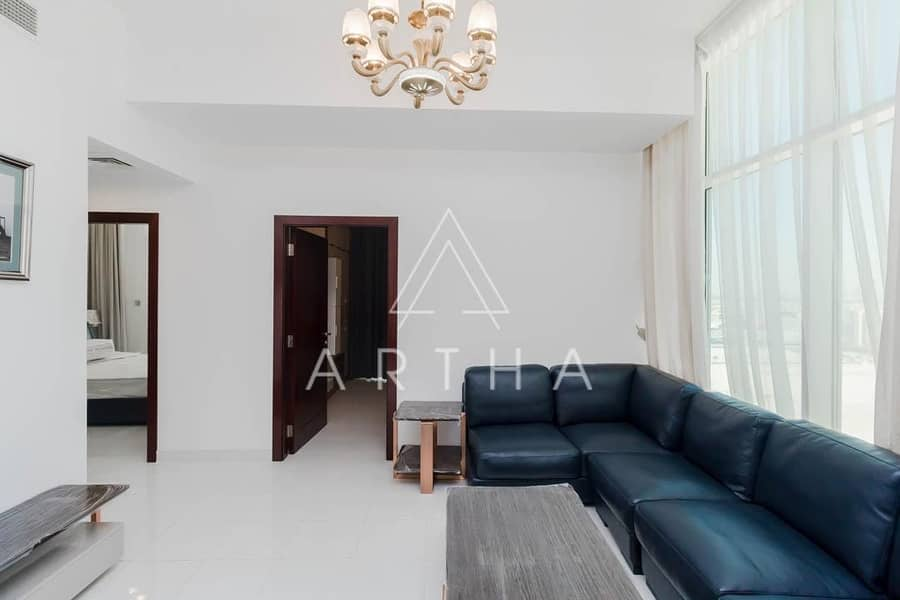20 Stunning 2 Bedroom in Starz tower - Al Furjan