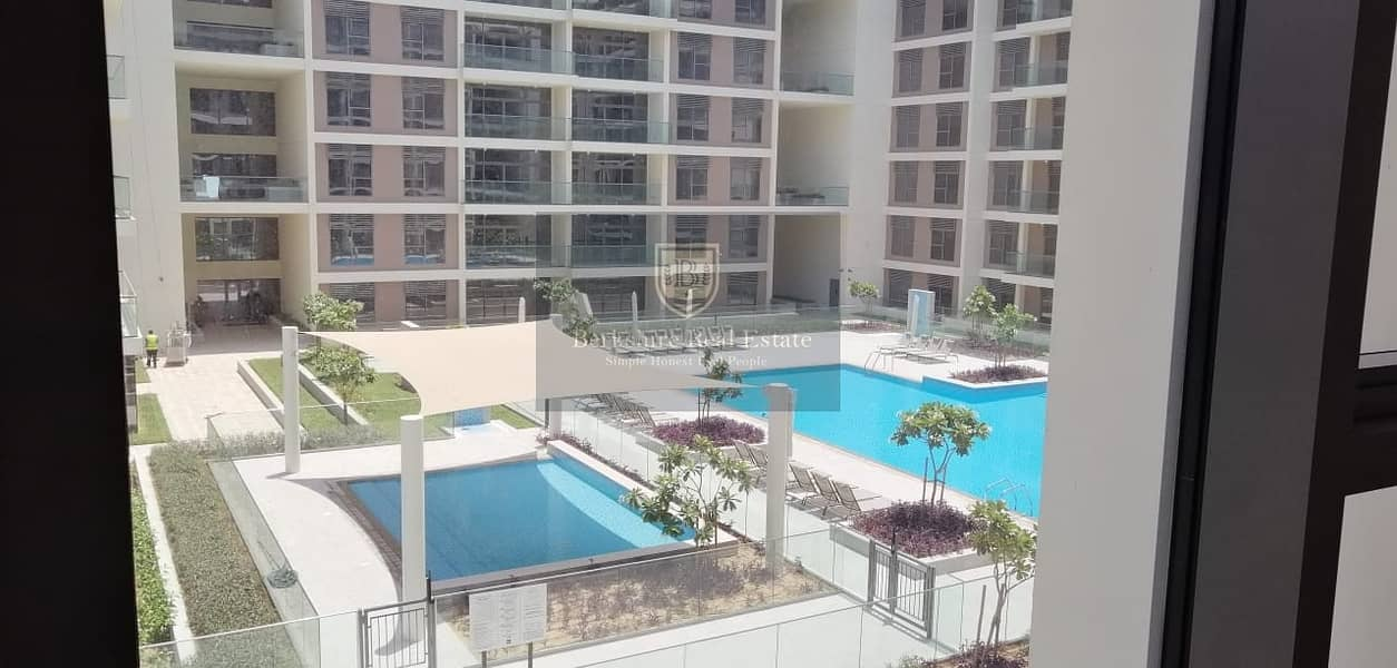 Spacious 3 BR + Maid Apartment |Park and Pool View