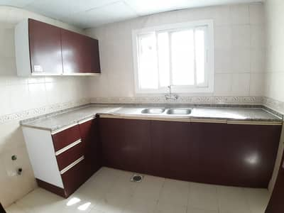 1 Bedroom Apartment for Rent in Muwailih Commercial, Sharjah - Spacious 1 Bedroom Hall Central Ac Central Gas 6 Cheques Family Home In New Muwaileh