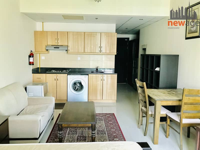 1 Fully Furnished Studio For Rent In Elite Residence 2