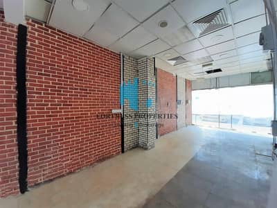 Shop for Rent in Electra Street, Abu Dhabi - Low Cost Retail Space facing Main Road | 614 SQ FT