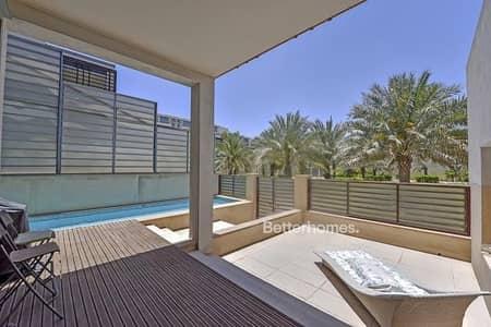 فیلا 4 غرف نوم للبيع في شاطئ الراحة، أبوظبي - Exclusive Beach Villa