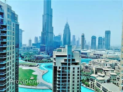 2 Bedroom Apartment for Sale in Downtown Dubai, Dubai - Fully Furnished|Burj Khalifa View|Ready to Move in