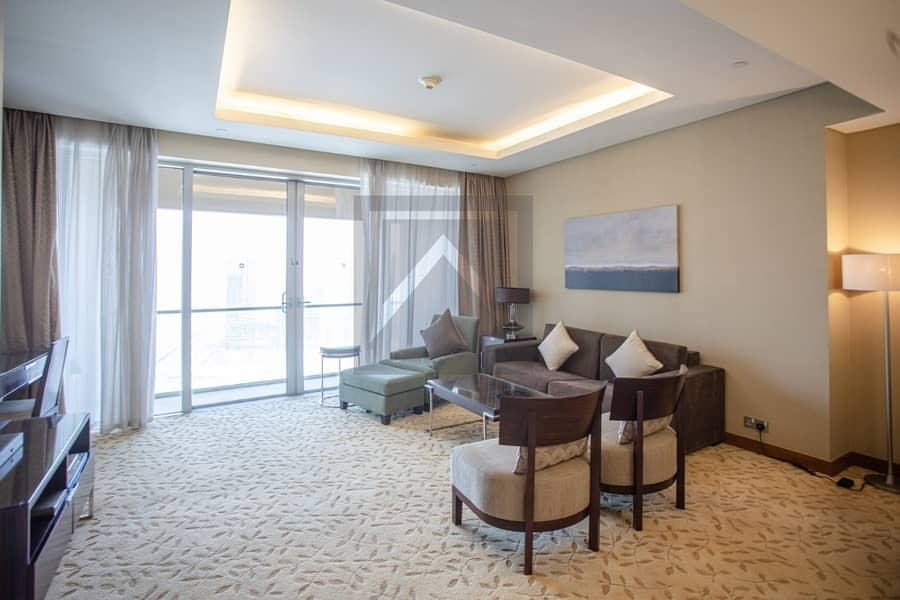 2 Fully Furnished | High Floor | Spacious Apartment