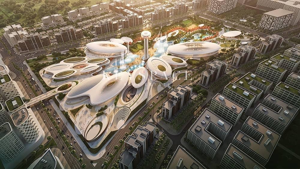10 2 Beds Apt| Boulevard| Easy Payment Plan| Sharjah