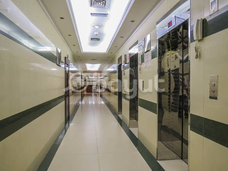 SPACIOUS 3 BED ROOM HALL AVAILABLE IN AL NAHD ( 1MONTH FREE )