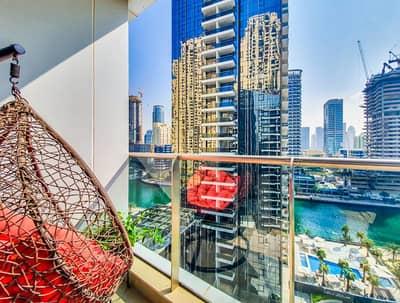 2 Bedroom Apartment for Rent in Dubai Marina, Dubai - LUXURY FURNISHED FULL MARINA VIEW | 2 Bedroom