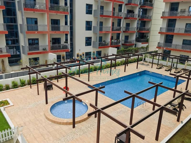 2 Pool Facing Unit with Double Large Balconies | Closed Kitchen