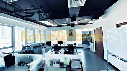 مکتب  للبيع في الخليج التجاري، دبي - Partitioned Office | Ontario Tower | Canal View