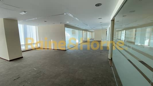 Office for Rent in Jumeirah Lake Towers (JLT), Dubai - Reef Tower | Partitioned office | Close to Metro