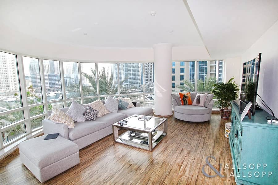 2 Exclusive |Marina View | Rented |Upgraded