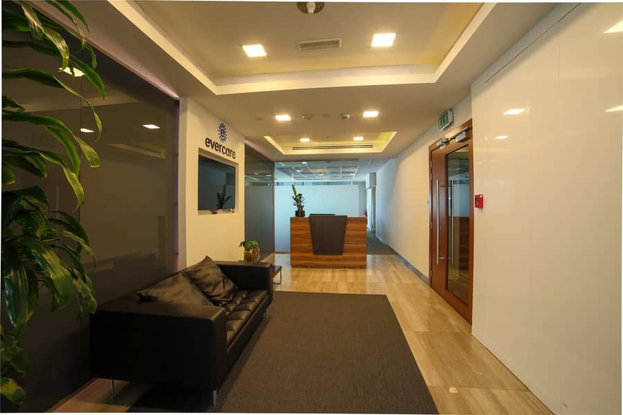 2 Fully Fitted Unit | Furnished Office | DIFC