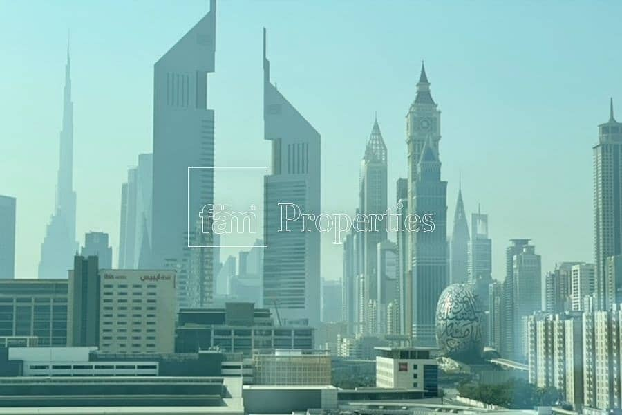 Burj Khalifa Skyline View! Furnished Duplex!