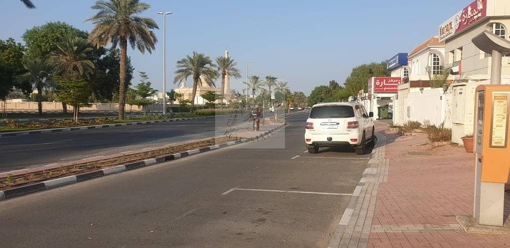 2 commercial villa for rent in Al Safa and AL WASL main road