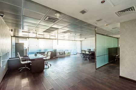 Office for Rent in Jumeirah Lake Towers (JLT), Dubai - Furnished and Fitted Office | High Flo