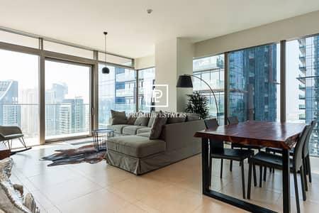 شقة 3 غرف نوم للبيع في دبي مارينا، دبي - High floor 3 bed apartment II Stunning lake views