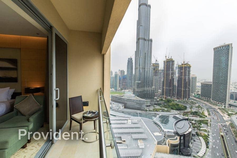 Burj Khalifa View | Connected to Dubai Mall