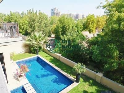 5 Bedroom Villa for Sale in Jumeirah Golf Estate, Dubai - Pristine Golf Course Villa | High Class | A Type