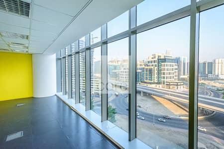 مکتب  للايجار في الخليج التجاري، دبي - Fitted Office | Low Floor | Prime Location