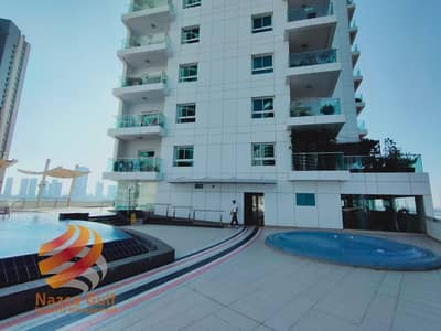2 Bedroom Flat for Rent in Al Reem Island, Abu Dhabi - Fully-Furnished 2BHK Apartment with Storage Area Sea View