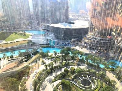 Studio for Rent in Downtown Dubai, Dubai - Studio   Lake and Opera View   Furnished