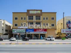 One bedroom for Rent in AL RWADA 3 with flexibility installment