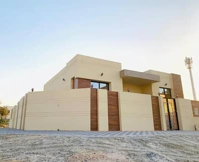 3 Bedroom Villa for Sale in Al Helio, Ajman - Directly from the owner, a new villa, the first inhabitant, with very excellent finishing, in a great location, with the possibility of bank financing