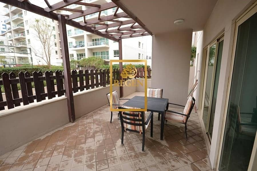 2 Two Bedroom Hall Plus Study With Courtyard Apartment For Rent in The Greens