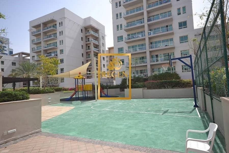 15 Two Bedroom Hall Plus Study With Courtyard Apartment For Rent in The Greens