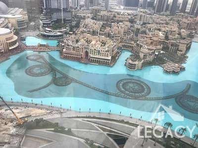 فلیٹ 2 غرفة نوم للايجار في وسط مدينة دبي، دبي - 100% Fountain view