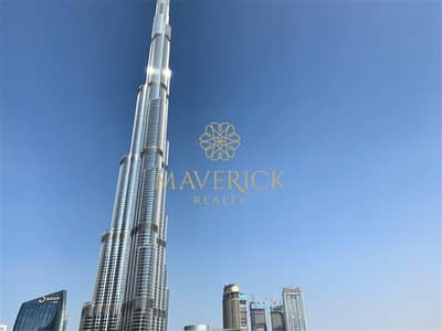 Fountain+Burj View | Furnished 3BR+Maids/R