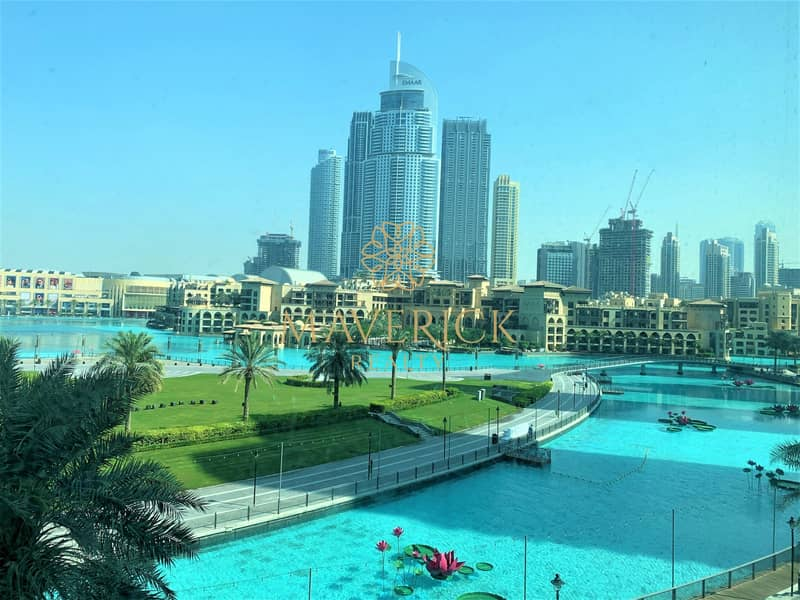2 Fountain+Burj View | Furnished 3BR+Maids/R