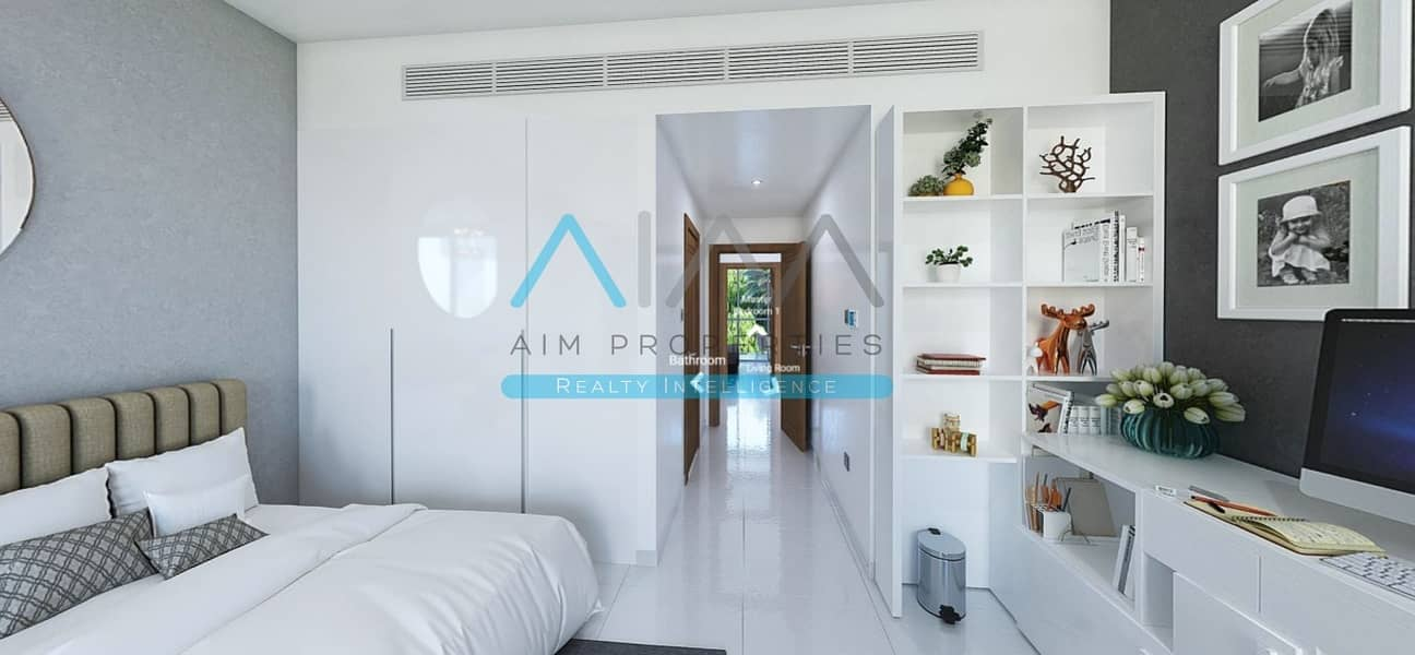 2 8% Guaranteed Return for 3.5 Years - 2 Bed Loft Townhouse in Dubailand.