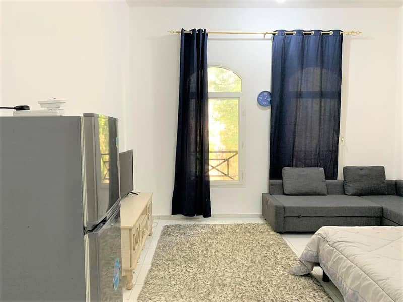 Amazingly Sanitized  First Floor Furnished Studio Near NMC Royal Hospital Rent Ready