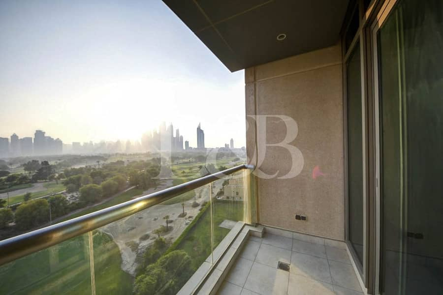 2 Golf Course View | High Floor | Vacant